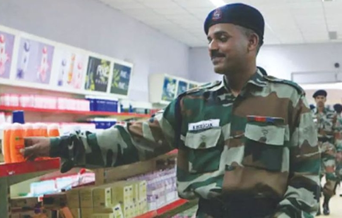 army canteen import ban