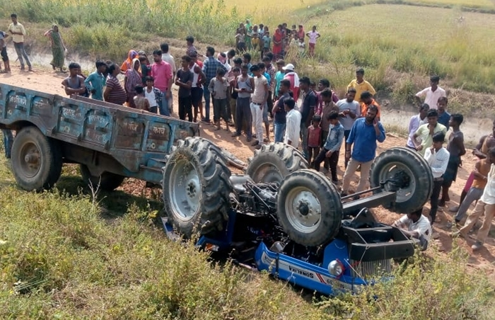 damoh accident