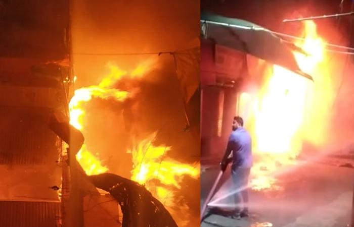 new market fire