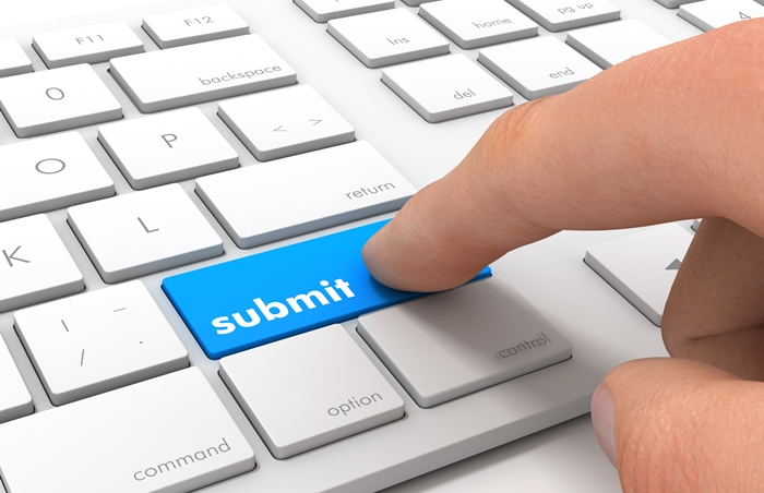 online form submission