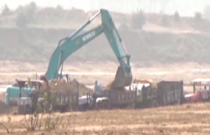tawa river sand excavation