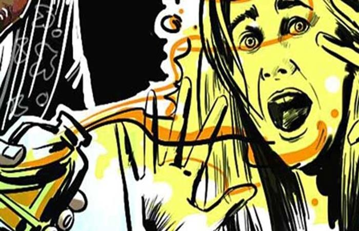 acid attack ujjain