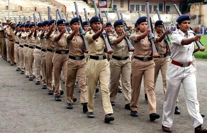 mp police women