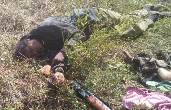 woman naxalite killed