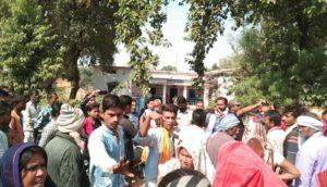 sabhapur police station gherao