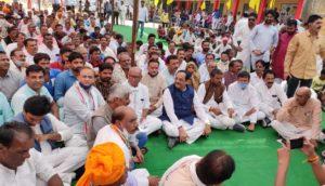 kisan mahapanchayt of congress