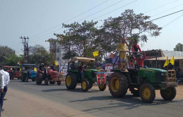 narsinghpur-tractor-rally